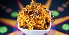 Crispy Baked Sweet Potato Noodles