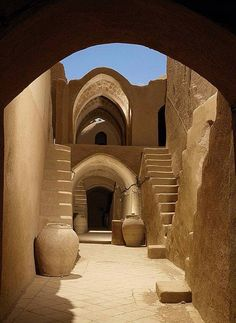 The grand prize for the 2014 UNESCO Asia-Pacific Cultural Heritage went to Sar Yazd Castle in Yazd, Iran. In June a panel of judges composed of international experts in conservation and resto… Persian Architecture, Vernacular Architecture, Ancient Architecture, Art And Architecture, Mosque Architecture, Cultural Architecture, Amazing Architecture, Iran Travel, Beautiful Places