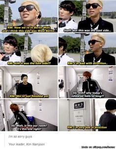 Smart but No sense of direction -Kim Namjoon-