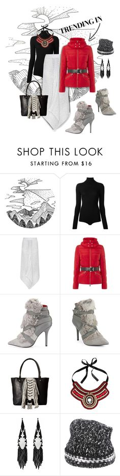 """Winter trend: puffers"" by valeria-mezhevikina ❤ liked on Polyvore featuring Courrèges, STELLA McCARTNEY, Michael Kors, Charles Jourdan, Sam Edelman, H&M, Forest of Chintz, Vicolo and puffers"