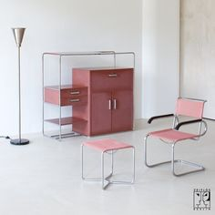 Wow! Rare Bauhaus cabinet by Bruno Weil for Thonet