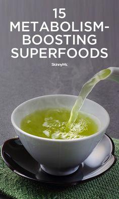 15 Metabolism-Boosting Superfoods