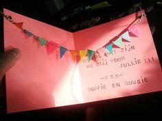 Geboorte kaartje voor Nia.