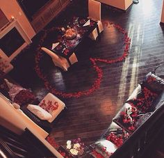 Every girl want a surprise like this