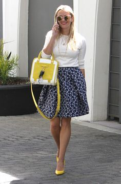 Le look preppy de Reese Witherspoon