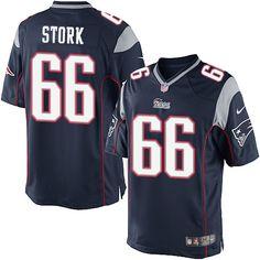 Men New England Patriots Nate Ebner Pro Line Navy Team Color Jersey