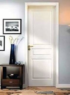 Puertas de interior serie sindecor modelo 701 for Puertas interiores blancas modernas