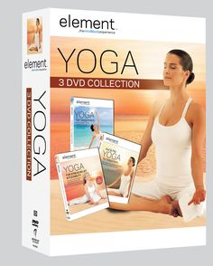 Element: The Mind & Body Experience 3-Pack sold at Costco starting 4/17/12, includes: Yoga for Beginners, AM & PM Yoga and Yoga for Stress Relief & Flexibility.
