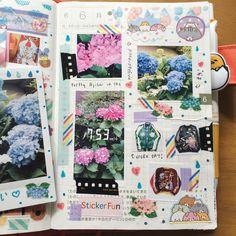 Journal Inspiration, Journal Ideas, Summer Journal, Hobonichi Techo, Nice Handwriting, Pretty Notes, Notebook Ideas, Creative Journal, Craft Art