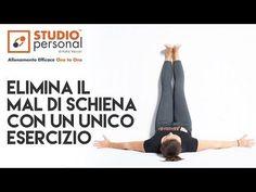 Esercizi di allungamento contro il mal di schiena e la sciatica - YouTube