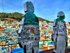 Gamcheon Culture Village Busan, South Korea