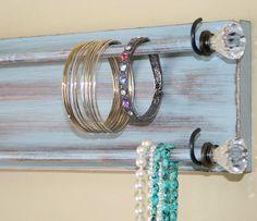 Jewelry Holder Organizer Bracelet Holder Rack by GardenCricket