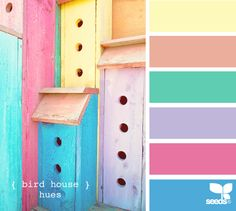 The Lab on the Roof: 15 Summer Color Palettes