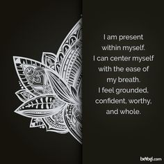 What does it mean to you to be present? #Mondaymantra
