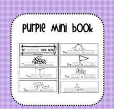 Purple Color Book