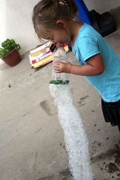 Anytime is really a good time for a homemade bubble blower.