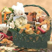 "A Gift of Grace $79.99 When words of sympathy are just not enough, send the Gift of Grace gift basket. They'll find words of peace and empowerment in the featured ""A Book of Grace"". This green wicker basket bears a candle to read by and tea and confections to enjoy while they meditate the grace you've sent their way. Send A Gift of Grace gift basket when words are not enough."