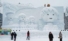 Sapporo Snow Festival   ... at the Sapporo Snow Festival? » Lost At E Minor: For creative people