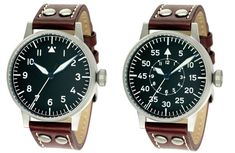 Classic B-Uhr Flieger style watches. Also on my 'list' Iwc Watches, Sport Watches, Cool Watches, Watches For Men, Citizen Watches, Iwc Pilot Chronograph, Best Affordable Watches, Oversized Watches, Luxury Watches