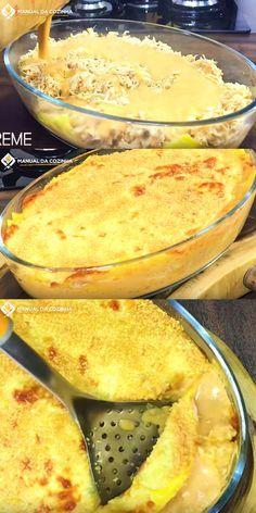 LASANHA DE FRANGO EM MINUTOS – SUPER FÁCIL #lasanhadefrango #lasanha #almoco #jantar #cozinha #receita #receitafacil #receitas #comida #food #manualdacozinha #aguanaboca #alexgranig