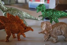 Sparkly dinosaurs