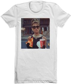 Audrey Pizza Women's Tee from Beloved Shirts