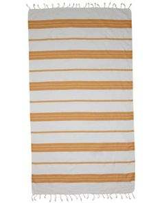 Whitehaven towel / Salmon & Yellow - from MAYDE $49.95 - 100% Cotton from Turkey. 100cm x 175cm... 100% Cotton & Cotton blend Turkish towels from MAYDE. Beach towels and bath towels that are ultra absorbent, lightweight and the perfect homewares accessory or for travel.