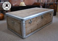Trento Coffee Table Trunk ⋆ Chests & Trunks