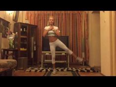 andreeasava.ro exercitii pentru picioare si coapse - legs and outer thigh workout - YouTube