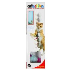 $7.99-$8.09 JW Pet BungareeThe Bungaree is an interactive toy that will keep your cat entertained for hours and hours. It attaches to any door and has a mouse that bounces at the end of a long elastic string. The cat can swat, jump and hunt for the elusive prey while getting healthy exercise. Great for indoor cats.