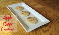 Apple Cider Cookies - Whats Cooking Love?