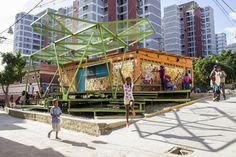 Espacios de Paz 2014 en Pinto Salinas, desarrollado por Oficina Lúdica y PKMN. Image © PICO Estudio