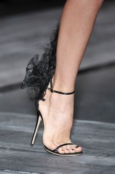Even as a female, I orgasmed over these. Valentino heels.