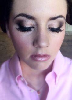 Smokey bridal party eye makeup. Luscious.  By Ashlee Rice  www.letsfaceitstudio.com