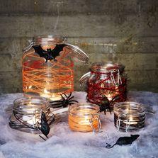 Kolla in våra 11 enkla gör det själv-tips för ett läskigt halloweenfirande. Skrämmande enkla pyssel!