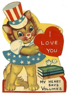 My Here Kitty Greetings board got too big. Now cat valentines have their own board:  http://www.pinterest.com/debbiedonothing/here-kitty-greetings-valentines/