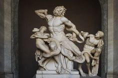 Laokoon Gruppe im Vatikanischem Museum von Fotofan