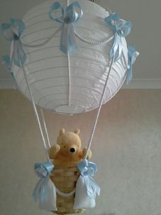 Classic WINNIE the POOH in Hot Air Balloon light shade ♥ Made To Order in | eBay