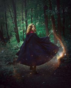 Nice, magical shot. Exactly how I'd imagine a HP concept shoot would look.