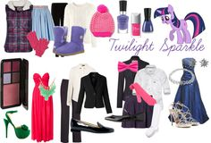 Twilight Sparkle  (My Little Pony Friendship is Magic) Inspired Outfits