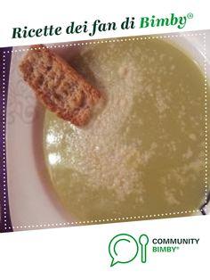 CREMA ASPARAGI E PATATE LEGGERA è un ricetta creata dall'utente Gloria87. Questa ricetta Bimby<sup>®</sup> potrebbe quindi non essere stata testata, la troverai nella categoria Zuppe, passati e minestre su www.ricettario-bimby.it, la Community Bimby<sup>®</sup>.
