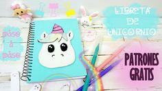 Notebook, Baby Shower, Html, Diy, Scrapbooking, Videos, School, Decorated Notebooks, Free Pattern