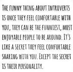 the secret is their personality #ISFJ
