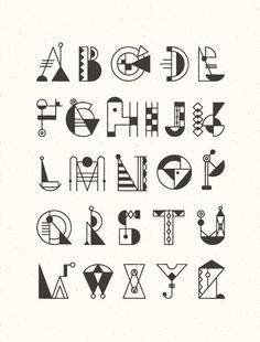 BAUCHSTABEN - typeface design on Typography Served