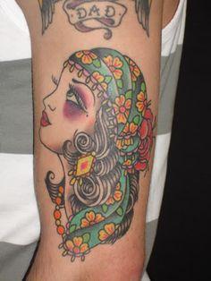 Saira Hunjan tattoo.