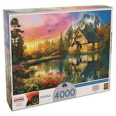 Puzzle Grow Chalé da Montanha - 4000 Peças