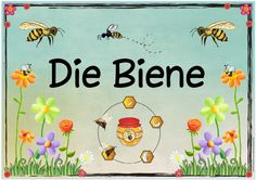 """Ideas trip: themed poster """"The Bee"""" - Ideas trip: themed poster """"The Bee"""" - Primary Education, Primary School, Kindergarten Portfolio, Thing 1, Woodland Party, Science Projects, Art School, How To Introduce Yourself, Montessori"""