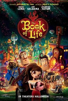 The stylish animated feature THE BOOK OF LIFE will please kids and parents alike with its unique visuals.