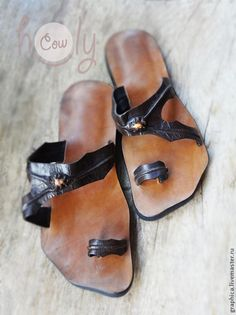 b5ef25a15474d7 Обувь ручной работы. Ярмарка Мастеров - ручная работа Кожаные сандалии