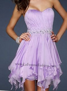 Sparkled Lilac Dress:)